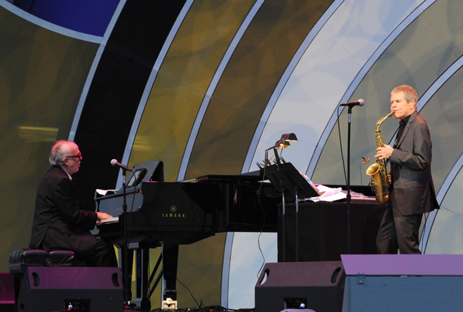 Во Дворце Гейдара Алиева состоится концерт основателя поп-джаза и величайшего саксофониста всех времен (фото) - Gallery Image