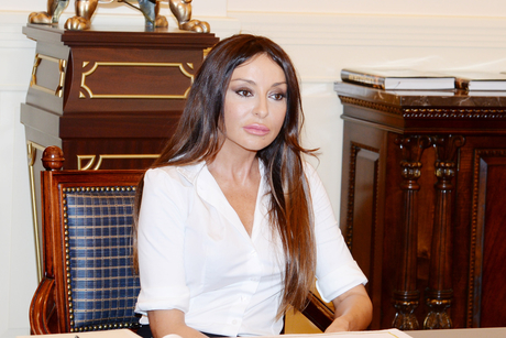 Azerbaijan's First Lady meets French Senate member (PHOTO) - Gallery Image