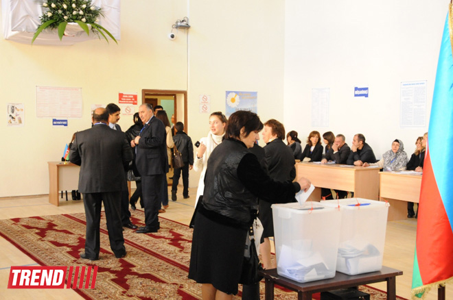 Constituencies with highest voter turnout in Azerbaijani presidential election publicized