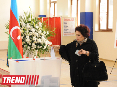 In 4 hours around 2 million people voted at Azerbaijan's presidential election