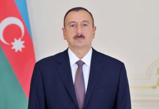 Ilham Aliyev re-elected as president of National Olympic Committee (PHOTO)