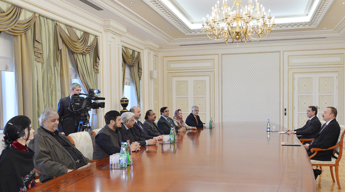 Azerbaijani President receives Deputy Chairman of Pakistani Senate - Gallery Image