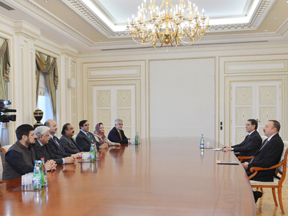 Azerbaijani President receives Deputy Chairman of Pakistani Senate