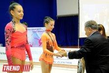 Bədii gimnastika üzrə XX Bakı çempionatının ikinci günü qaliblər müəyyənləşib (FOTO) - Gallery Thumbnail