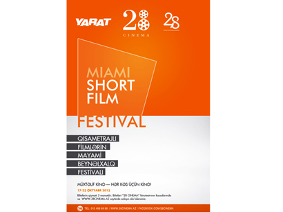 "YARAT Contemporary Art Organisation and ""28 Cinema"" hold Miami Short Film Festival in Baku"