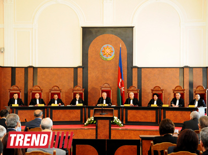 Azerbaijani Constitutional Court begins considering presidential election results (PHOTO)