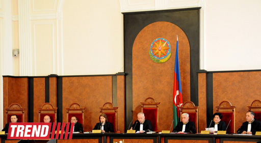 Azerbaijani Constitutional Court begins considering presidential election results (PHOTO) - Gallery Image