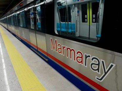 Traffic through Turkey's Marmaray tunnel halted by suspicious package