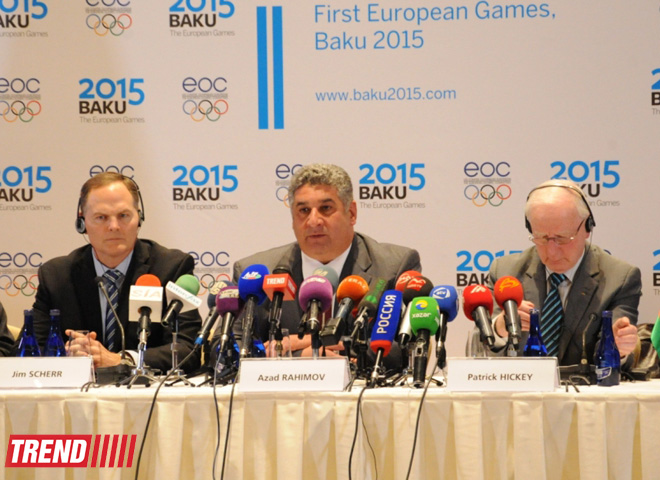 Committee President: Great progress made on preparation for First European Games (PHOTO) - Gallery Image