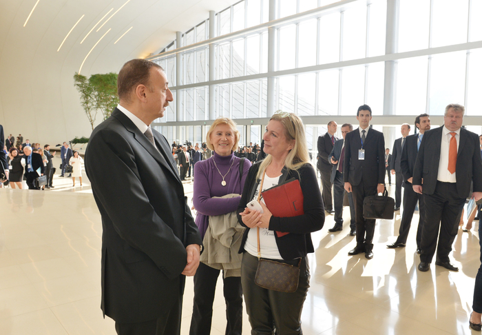 President Ilham Aliyev: Baku turns into one of centers of int'l cooperation (UPDATE) (PHOTO) - Gallery Image