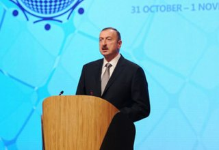 President Ilham Aliyev: Baku turns into one of centers of int'l cooperation (UPDATE) (PHOTO)