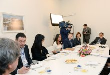 Leyla Aliyeva meets with heads and representatives of Russian media reps (PHOTO) - Gallery Thumbnail