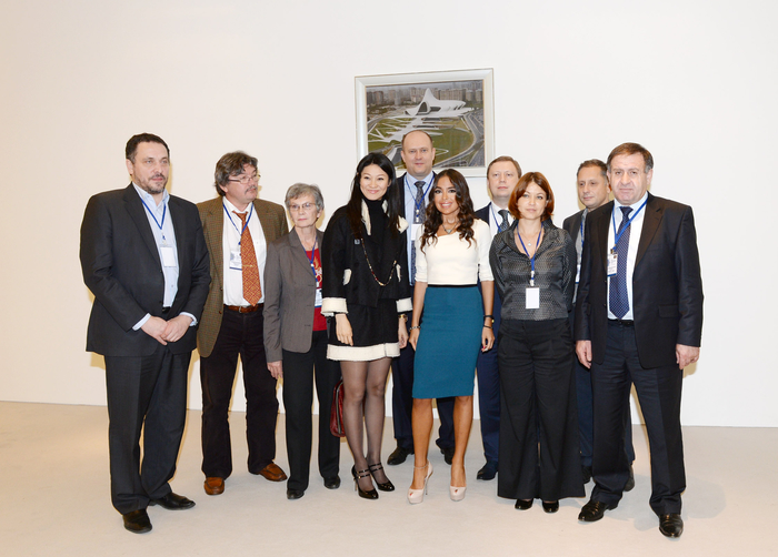 Leyla Aliyeva meets with heads and representatives of Russian media reps (PHOTO) - Gallery Image