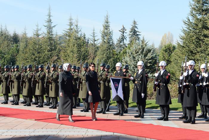 В Анкаре состоялась церемония официальной встречи Президента Азербайджана (ФОТО) - Gallery Image