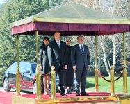 В Анкаре состоялась церемония официальной встречи Президента Азербайджана (ФОТО) - Gallery Thumbnail