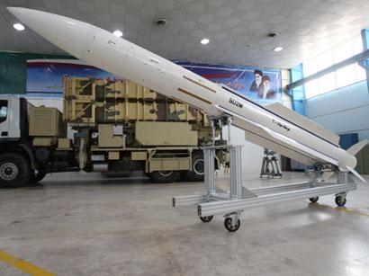 Иран представил 12 баллистических ракет
