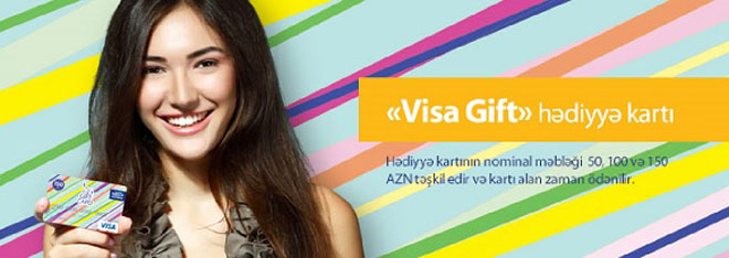 """Visa Gift"", a brand-new bank product in Azerbaijan - Gallery Image"