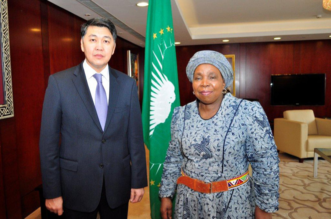 Kazakhstan gains observer status in African Union (PHOTO)