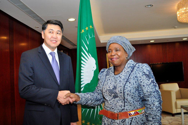 Kazakhstan gains observer status in African Union (PHOTO) - Gallery Image