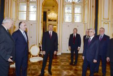 Settlement of Nagorno-Karabakh conflict discussed at meeting of Azerbaijani and Armenian presidents (PHOTO) - Gallery Thumbnail