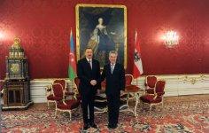 Prezident İlham Əliyev Avstriya Prezidenti Haynts Fişer ilə görüşüb (FOTO) - Gallery Thumbnail