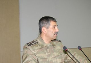 Azerbaijani defense minister departs for Moscow