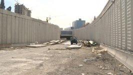 """Обнародована информация о строительных работах перед стадионом """"Шафа"""" в Баку (ФОТО) - Gallery Thumbnail"""