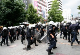 Approximately 40 children arrested after protests in Ankara