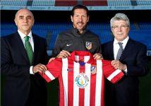 Atlético Madrid stars reveal new Baku 2015 logo in European Games shirt sponsorship deal - Gallery Thumbnail