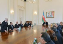 President Ilham Aliyev: Azerbaijan has free media and determined to further develop it (PHOTO) - Gallery Thumbnail