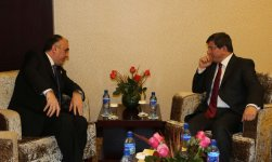 Azerbaijani, Turkish foreign ministers discuss development prospects of bilateral ties (PHOTO) - Gallery Thumbnail