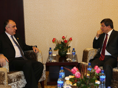 Foreign ministers of Azerbaijan, Turkey meet in Tehran