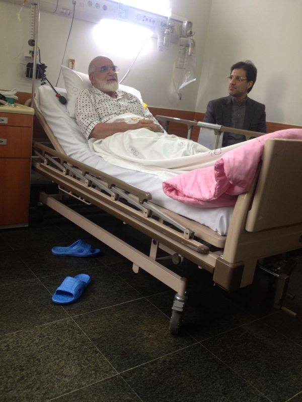 Iranian opposition leader goes under surgery