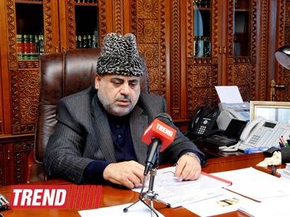 Head of Caucasus Muslims Office: Religious figures must put efforts for fair settlement of Nagorno-Karabakh conflict - Gallery Image