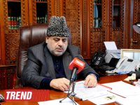 Head of Caucasus Muslims Office: Religious figures must put efforts for fair settlement of Nagorno-Karabakh conflict - Gallery Thumbnail