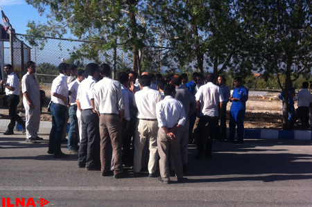Workers at Iranian South Pars complex protest at salary reduction (PHOTO) - Gallery Image