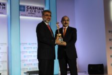 President Ilham Aliyev honored with Caspian Statesman of the Year Award - Gallery Thumbnail