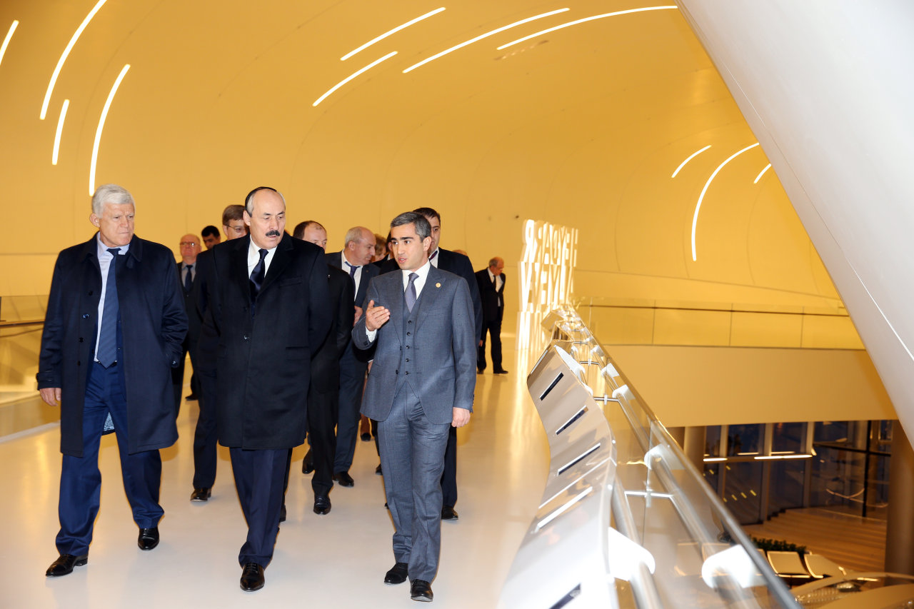 President of Dagestan visits Heydar Aliyev Center in Baku (PHOTO) - Gallery Image