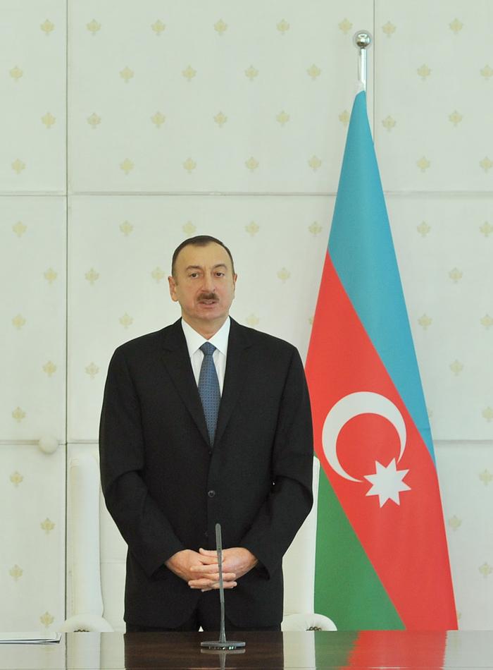 President Ilham Aliyev declared 2014 the Year of Industry in Azerbaijan (PHOTO) - Gallery Image
