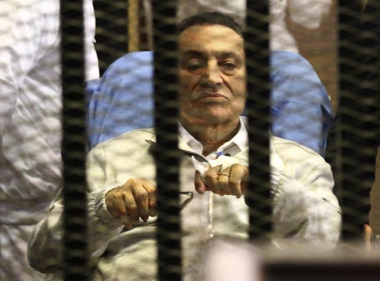 Egyptian court sentences ousted leader Mubarak to three years' jail
