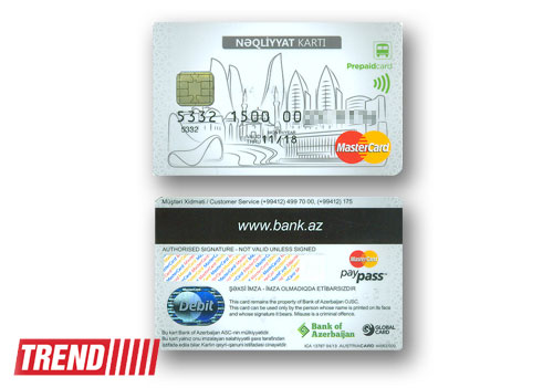 Public transport cards sold in Baku (PHOTO)