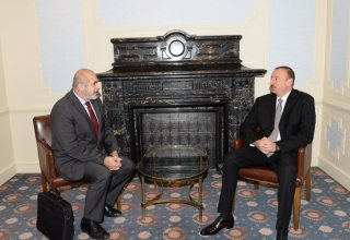 Azerbaijani president receives EU Special Representative for South Caucasus