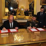 Azerbaijan, France to cooperate in defence field (PHOTO) - Gallery Thumbnail