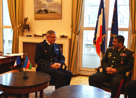 Azerbaijan, France to cooperate in defence field (PHOTO) - Gallery Image