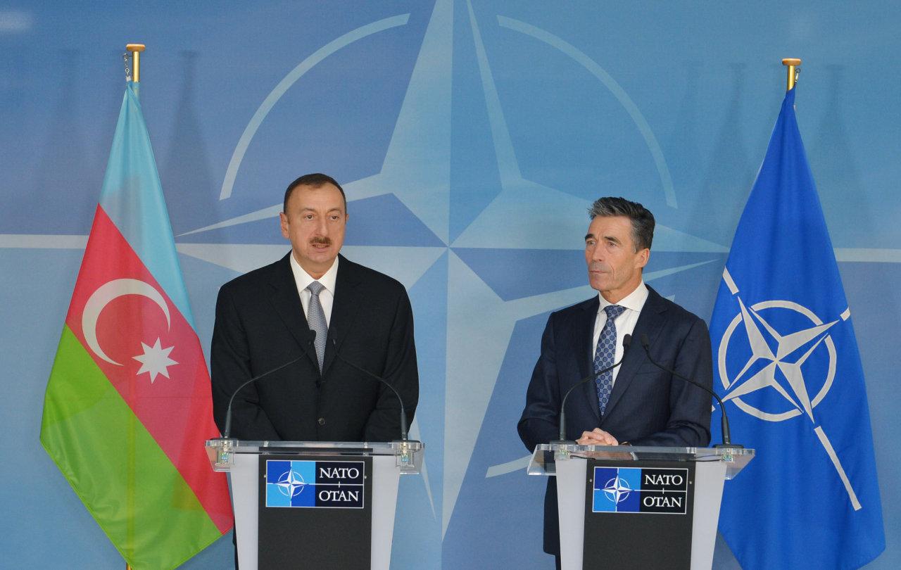 Prezident İlham Əliyev: Azərbaycan-NATO münasibətləri strateji əməkdaşlıq səviyyəsinə yüksəlib (ƏLAVƏ OLUNUB) (FOTO) - Gallery Image