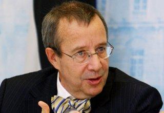 Президент Эстонии выступает за создание баз НАТО на территории страны