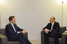 Prezident İlham Əliyev Niderlandın Baş naziri ilə görüşüb - Gallery Thumbnail