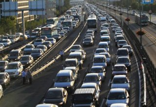 Most of cars driven in Turkey's Istanbul city