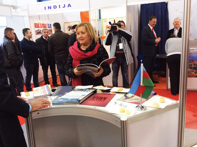 Azerbaijan participates in international business, crafts and agriculture fair in Croatia (PHOTO) - Gallery Image