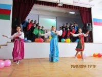 Бакинские школьники представили спектакль, посвященный дружбе Азербайджана и России (фото) - Gallery Thumbnail